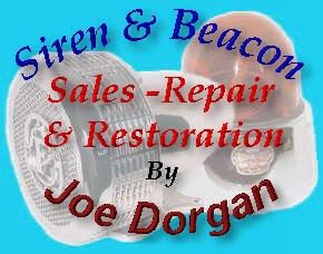 Antique Siren, Beacon, Sales, Service & Restoration  by Joe Dorgan